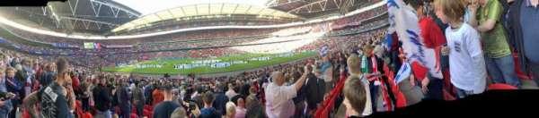 Wembley Stadium, sección: 122, fila: 22, asiento: 318