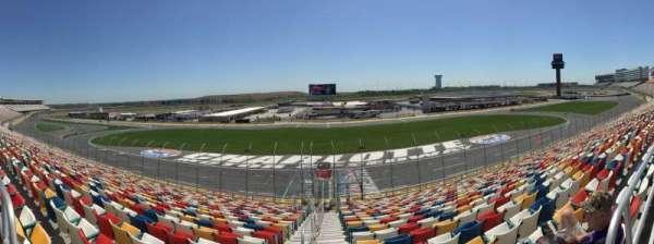 Charlotte Motor Speedway, sección: General Motors E, fila: 25