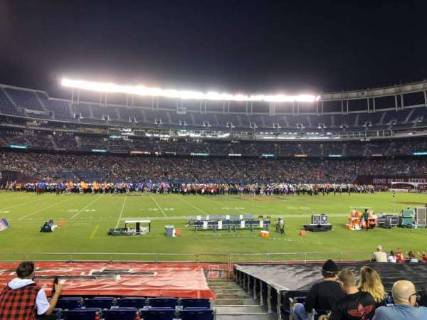 SDCCU Stadium, sección: F3, fila: 17, asiento: 17