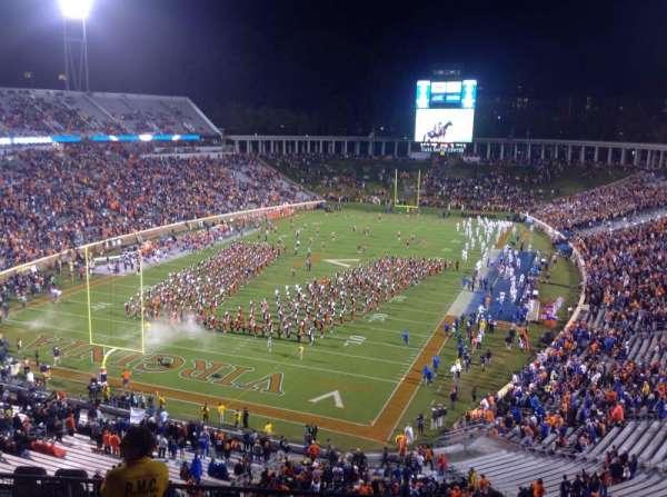 Lane Stadium, sección: 201