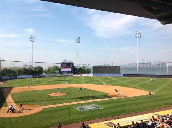 Richmond County Bank Ballpark, sección: 10, fila: V
