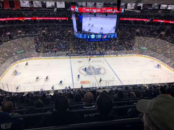Scotiabank Arena, sección: 310, fila: 15, asiento: 4