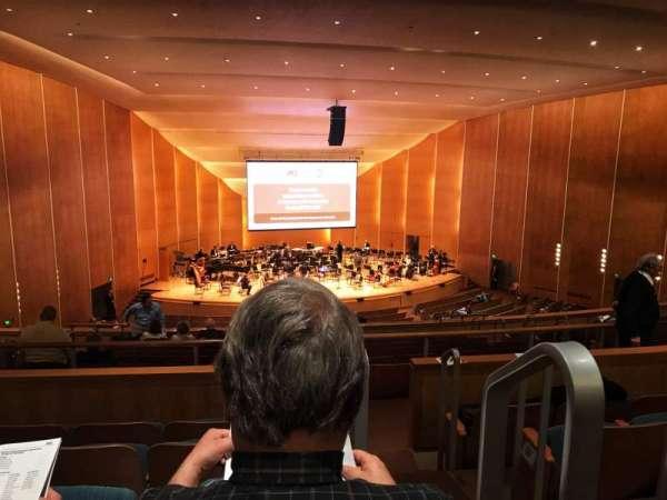 Kleinhans Music Hall, sección: Middle balcony, fila: K, asiento: 19