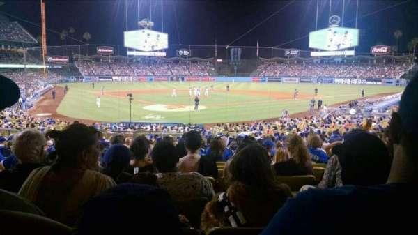 Dodger Stadium, sección: 4FD, fila: W, asiento: 6