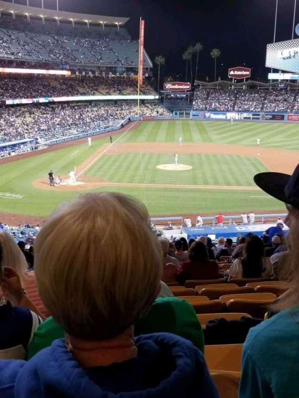 Dodger Stadium, sección: 126LG, fila: S, asiento: 2