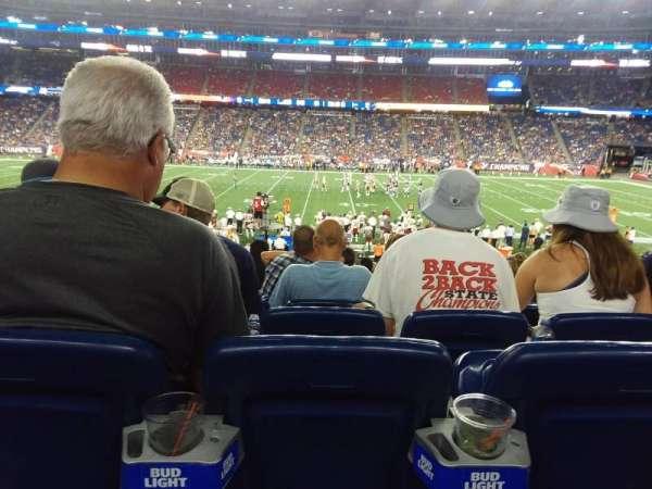Gillette Stadium, sección: 131, fila: 26, asiento: 10