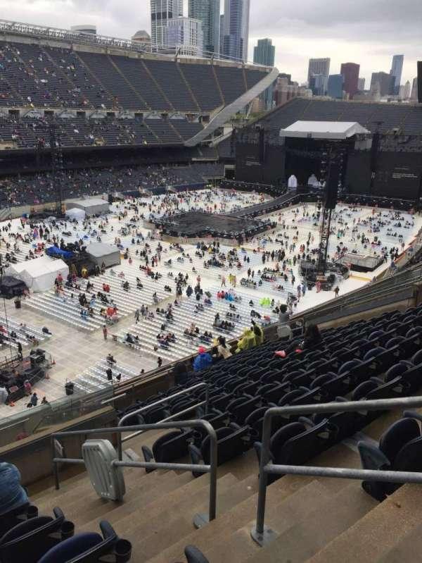 Soldier Field, sección: 316, fila: 14, asiento: 17