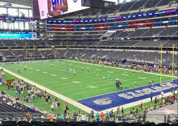AT&T Stadium, sección: 227, fila: 10, asiento: 14