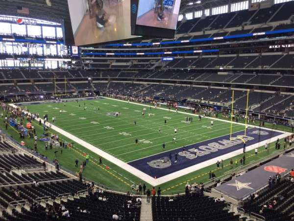 AT&T Stadium, sección: 303, fila: 4, asiento: 3