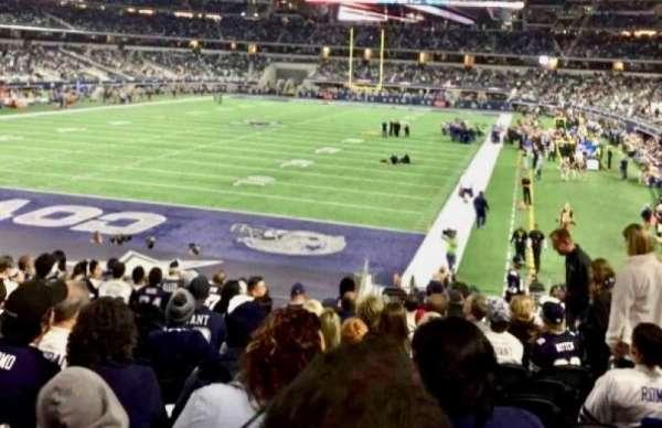 AT&T Stadium, sección: 121, fila: 21, asiento: 16