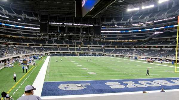 AT&T Stadium, sección: 150, fila: 16, asiento: 20
