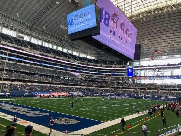 AT&T Stadium, sección: 144, fila: 10, asiento: 18