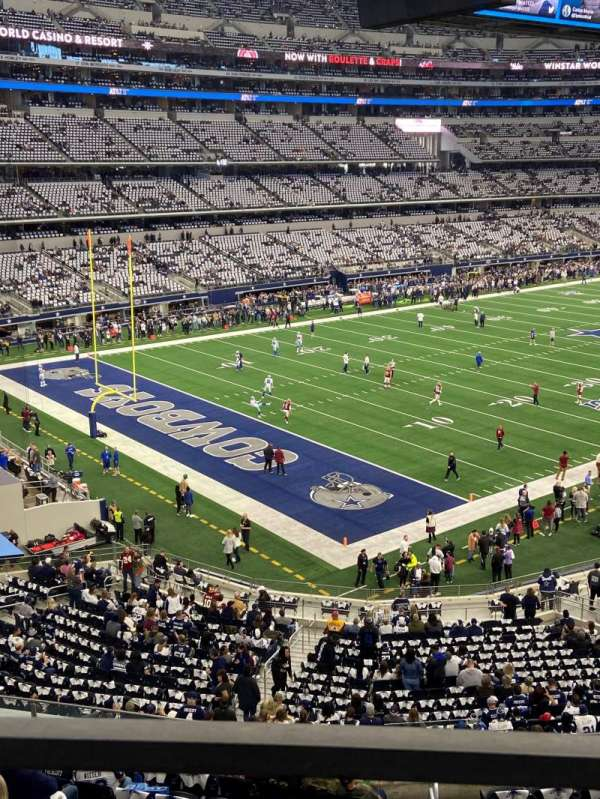 AT&T Stadium, sección: 343, fila: 1, asiento: 16