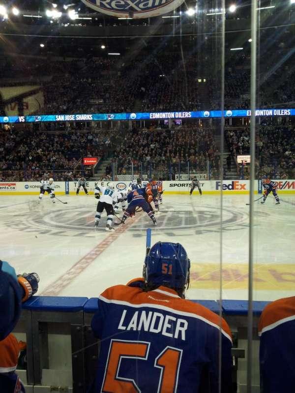 Northlands Coliseum, sección: 119, fila: 3, asiento: 7