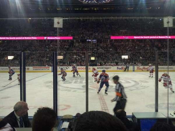 Northlands Coliseum, sección: 101, fila: 5, asiento: 13