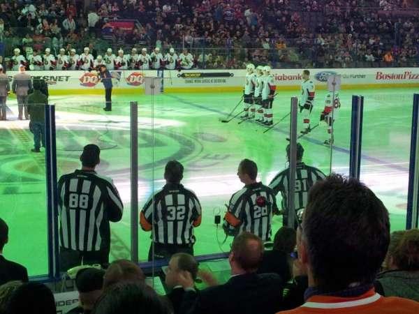 Northlands Coliseum, sección: 101, fila: 8, asiento: 17