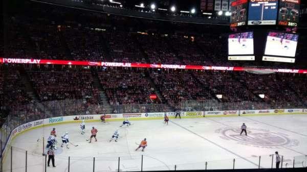 Northlands Coliseum, sección: 222, fila: 21, asiento: 9