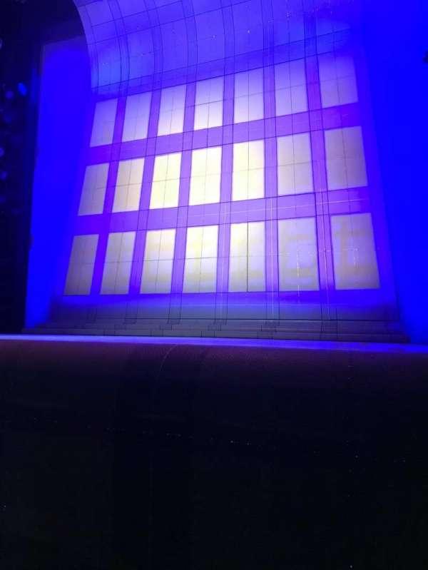 Alice Griffin Jewel Box Theatre, sección: Orchestra, fila: B, asiento: 4