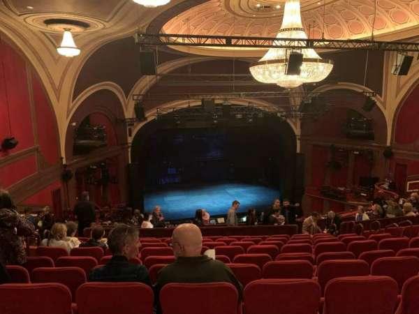 Broadway Theatre - 53rd Street, sección: Rear Mezzanine L, fila: L, asiento: 120