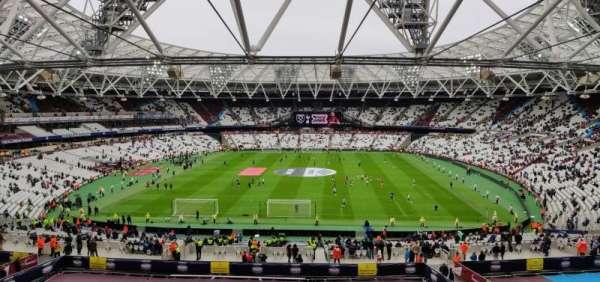 London Stadium, sección: 223, fila: 53, asiento: 250