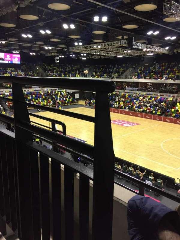 Copper Box Arena, sección: 210, fila: 12, asiento: 38