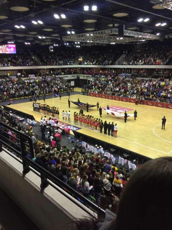 Copper Box Arena, sección: 210, fila: 12, asiento: 37