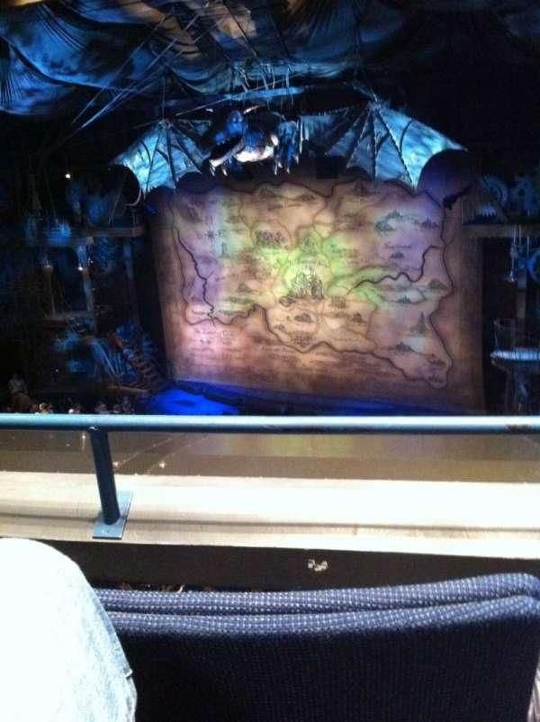 Gershwin Theatre, sección: FMezz, fila: B, asiento: 10