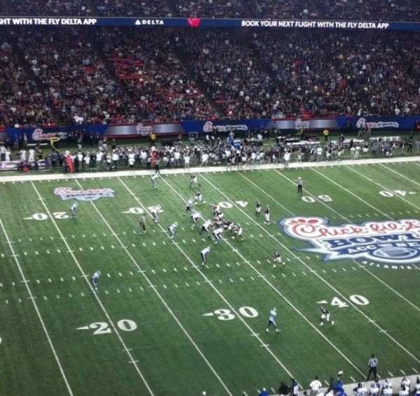 Georgia Dome, sección: 325, fila: 2, asiento: 16