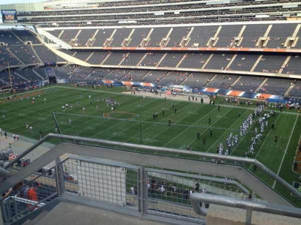 Soldier Field, sección: 432, fila: 2, asiento: 1