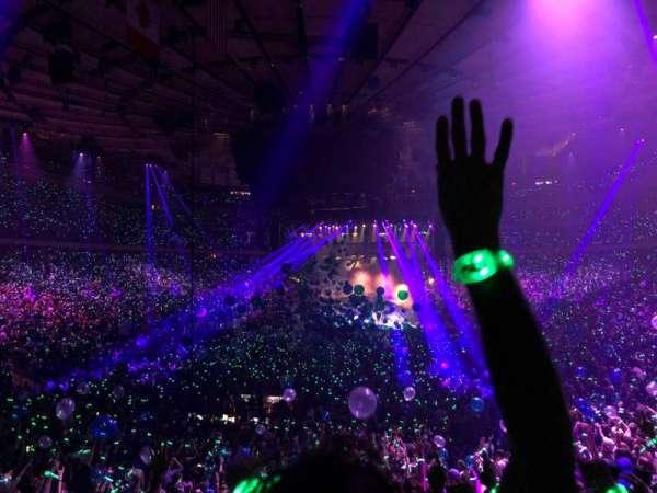 Madison Square Garden, sección: 103, fila: 19, asiento: 7