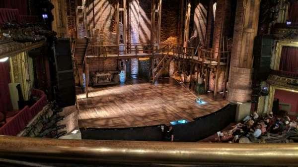 CIBC Theatre, sección: Mezzanine L, fila: A, asiento: 1