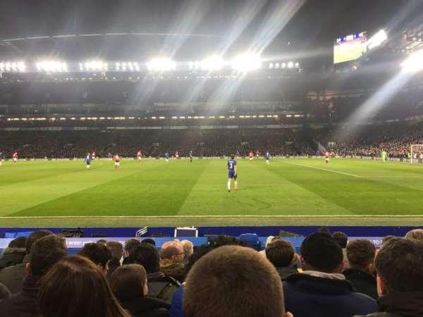Stamford Bridge, sección: East Lower 6, fila: L, asiento: 152