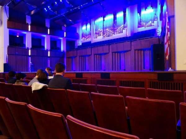 The Kennedy Center Concert Hall, sección: Orchestra, fila: D, asiento: 22 and 24