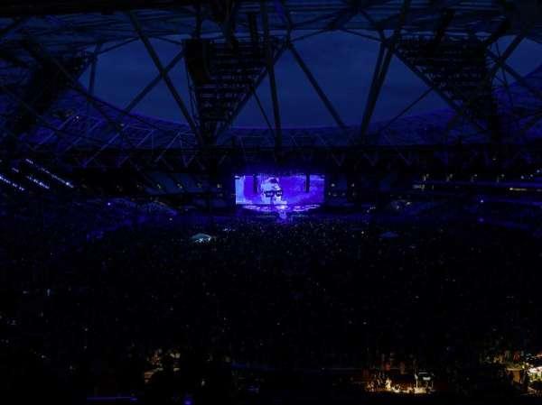 London Stadium, sección: 249, fila: 58, asiento: 21