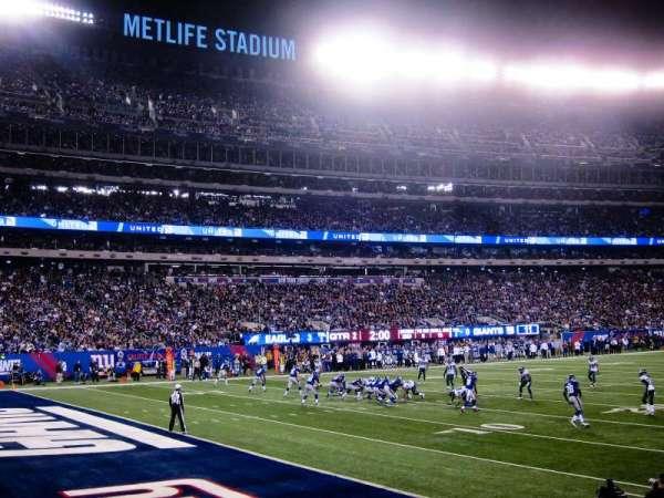 MetLife Stadium, sección: 144, fila: 7, asiento: 12