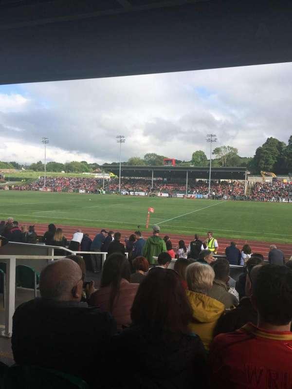 Zip World Stadium, sección: North stand, fila: C, asiento: 6