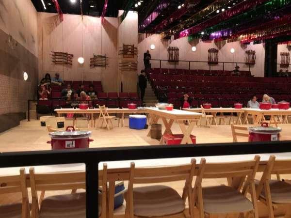 Circle in the Square Theatre, sección: Orchestra 400 (Odd), fila: Aisle 1, asiento: B 407