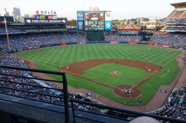 Turner Field, sección: 404R, fila: 2, asiento: 2