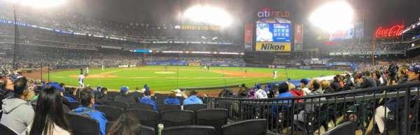 Citi Field, sección: 11, fila: 10, asiento: 8
