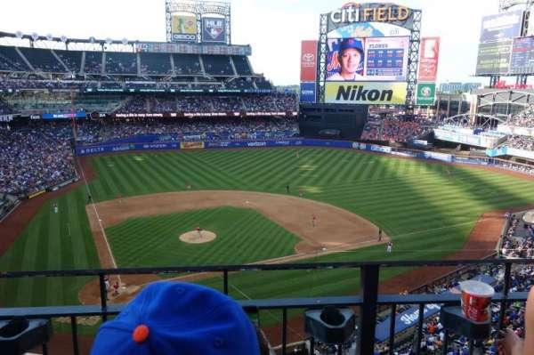Citi Field, sección: 411, fila: 2, asiento: 11