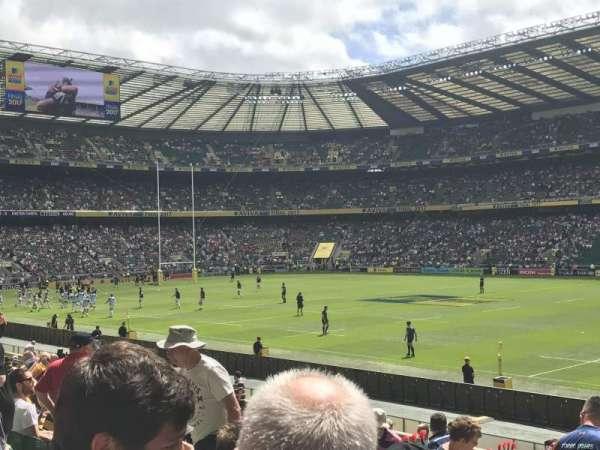 Twickenham Stadium, sección: L22, fila: 21, asiento: 109