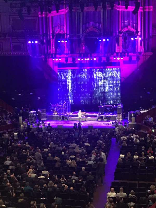 Royal Albert Hall, sección: Grand Tier 25, asiento: 2