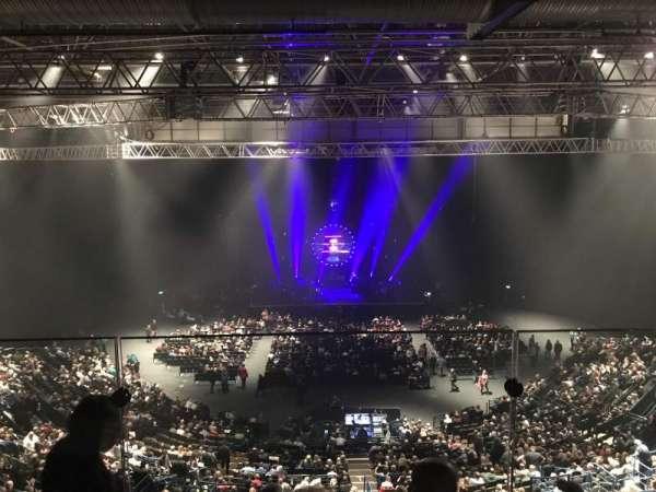 Arena Birmingham, sección: Show deck, fila: Stools, asiento: 8