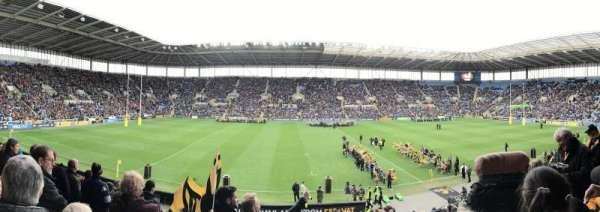 Ricoh Arena, sección: West Stand Block B, fila: W, asiento: 9