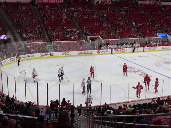 PNC Arena, sección: 123, fila: Z, asiento: 1