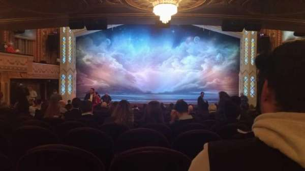 Eugene O'Neill Theatre, sección: Orchestra C, fila: S, asiento: 107