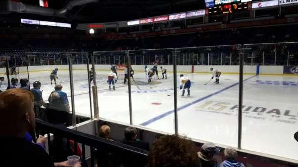 State Farm Arena (Hildago), sección: 113, fila: E, asiento: 1