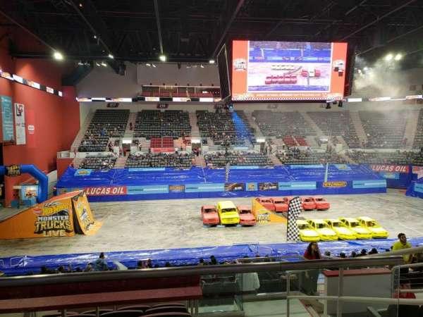 Bert Ogden Arena, sección: 201, fila: F, asiento: 6