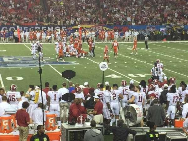 Georgia Dome, sección: 116, fila: 15, asiento: 14