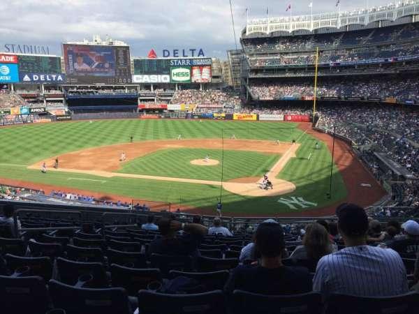 Yankee Stadium, sección: 221B, fila: 12, asiento: 7